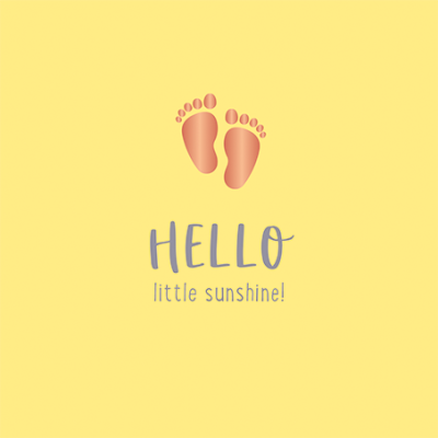 Hello little sunshine!