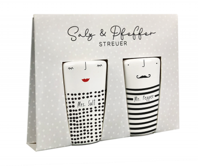 Mrs. Salt & Mr. Pepper