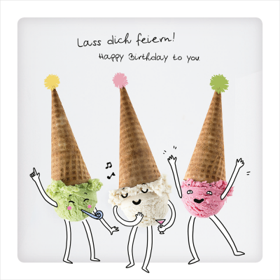 Lass dich feiern!
