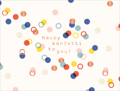 happy konfetti...