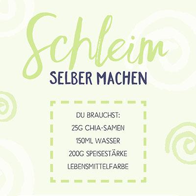 DIY-Schleim