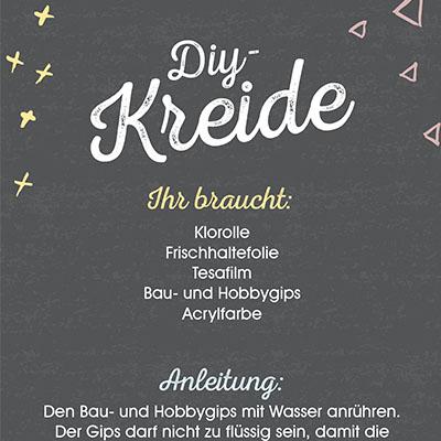 DIY-Kreide